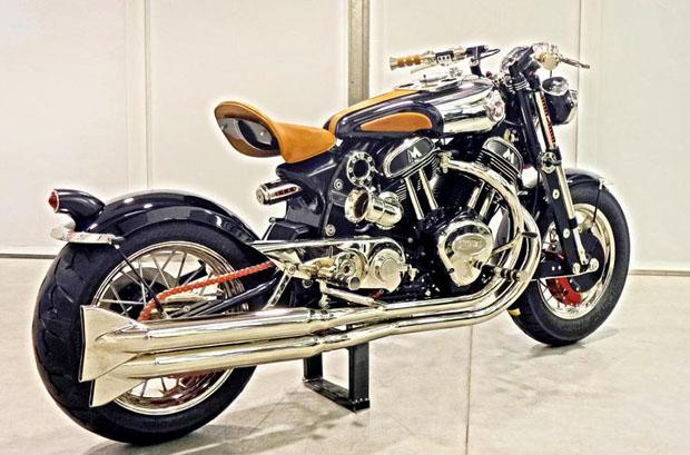 Matchless Model X Reloaded Back