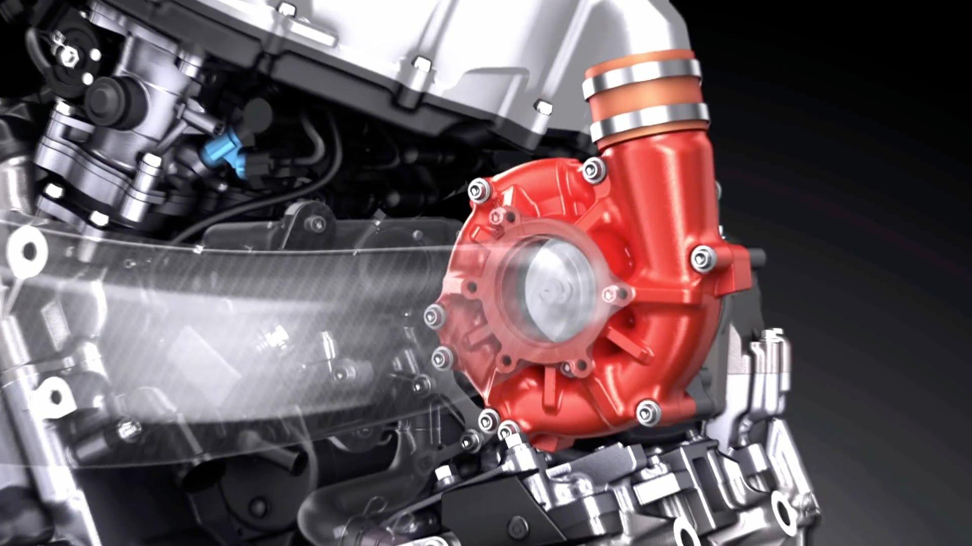 "2018 Kawasaki H2SX supercharger geeft ""toermotor"" een ..."