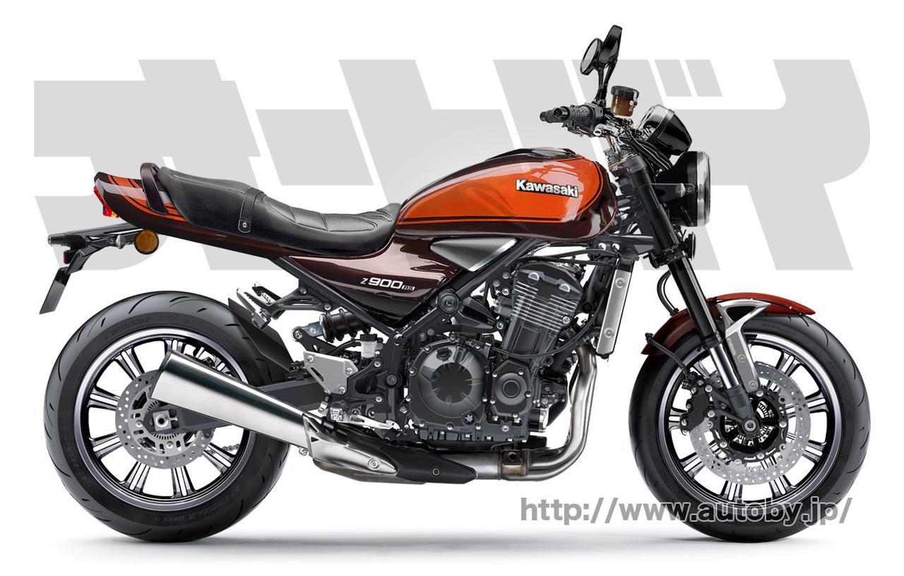 Scoop 2018 Kawasaki Z900rs In Beeld Oliepeil